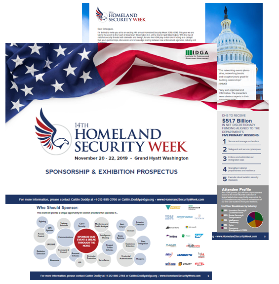 Homeland Security Week 2019 Sponsorship Prospectus