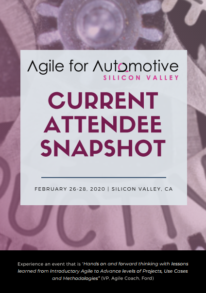Agile Silicon Valley - Current Attendee Snapshot