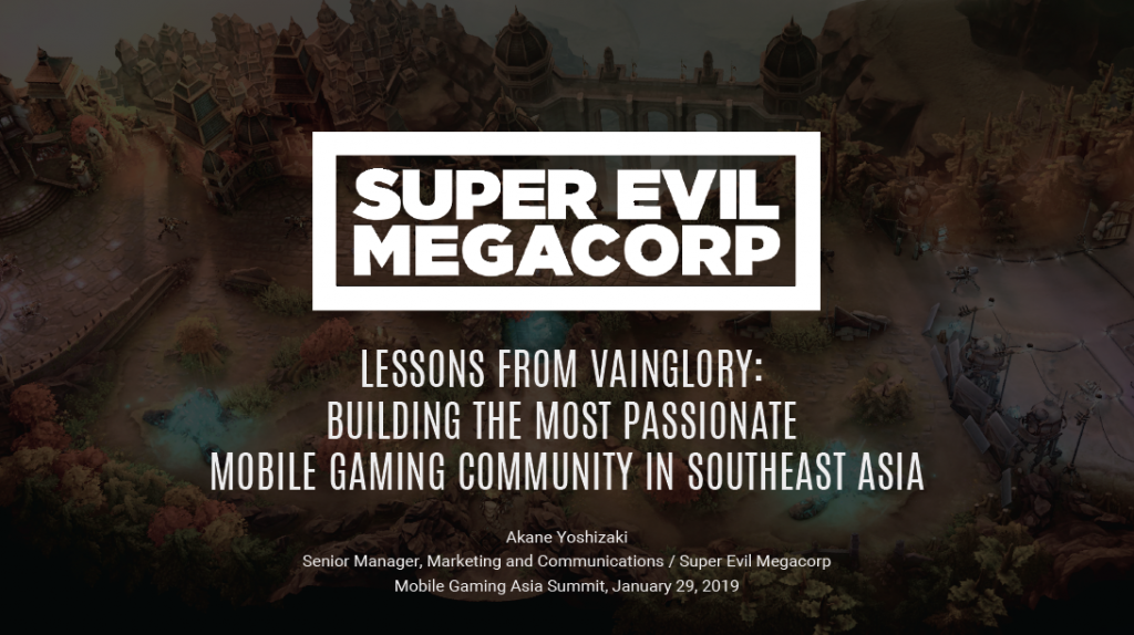 Lessons From Vainglory: Building The Most Passionate Mobile Gaming Community In SEA