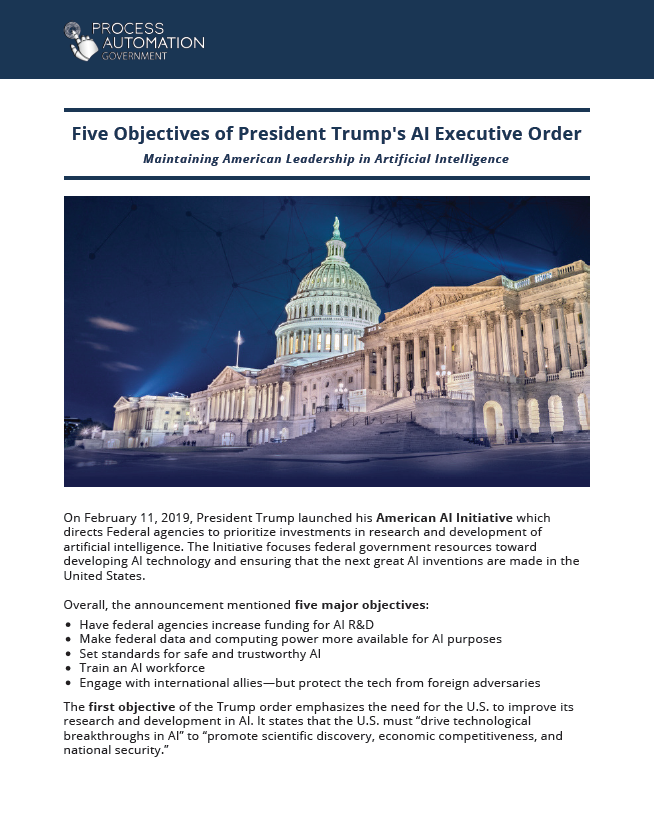 Five Objectives of President Trump's AI Executive Order