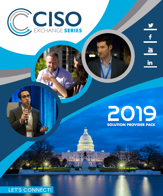 Download the Sponsorship Brochure for the 12th Chief Information Security Officer Exchange!