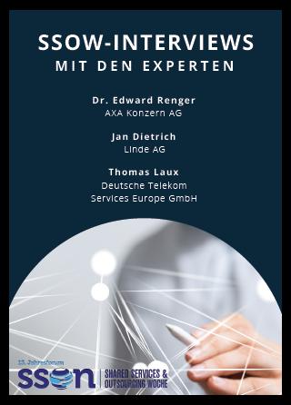 Shared Services & Outsourcing 2018: Interview mit den Experten