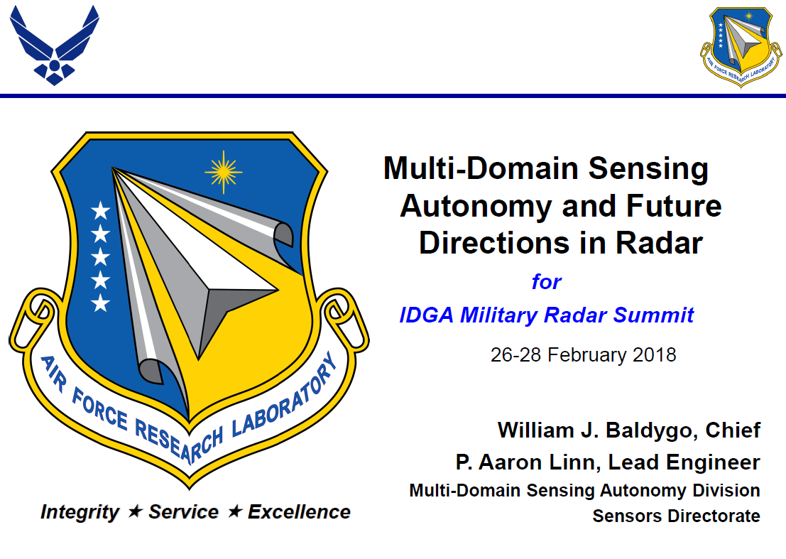 Multi-Domain Sensing Autonomy and Future Directions in Radar