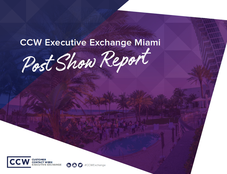 CCW Executive Exchange March Post Show Report