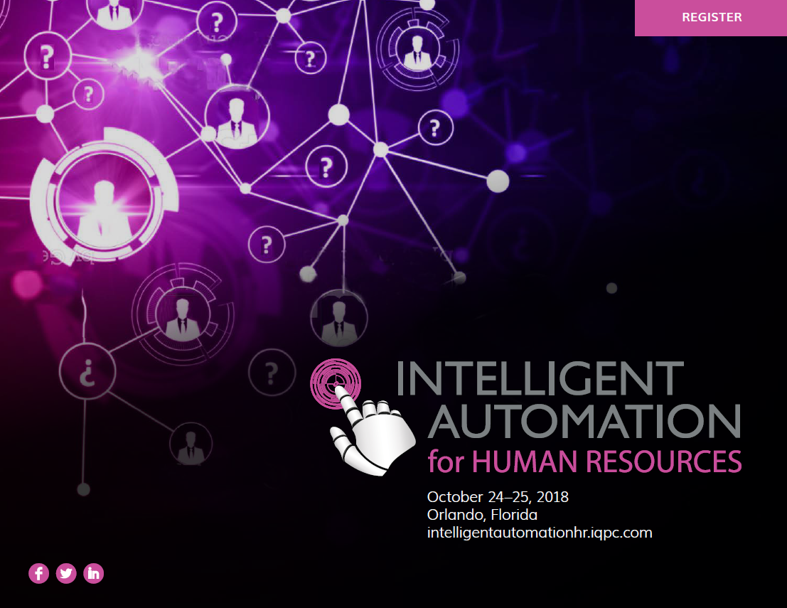 Intelligent Automation for HR - Event Guide