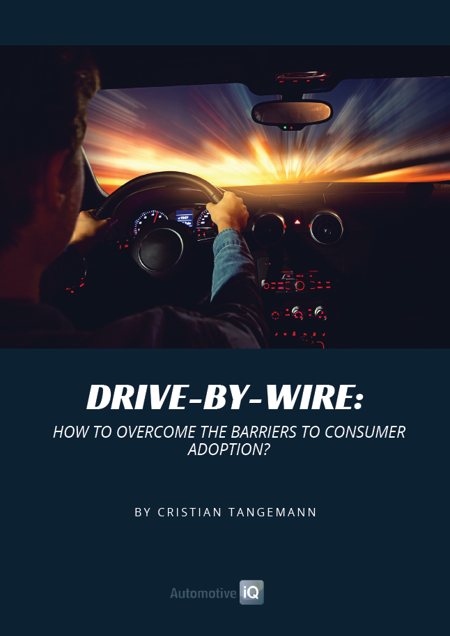 Report on Drive-by-Wire - How to Overcome the Barriers to Consumer Adoption
