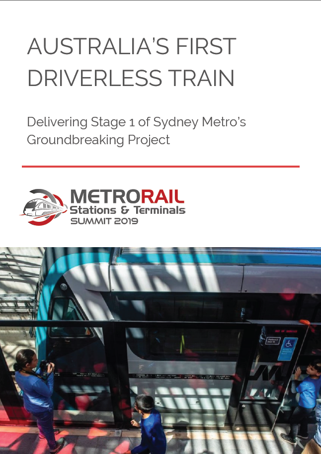 Australia's First Driverless Train: Delivering Stage 1 of Sydney Metro's Groundbreaking Project