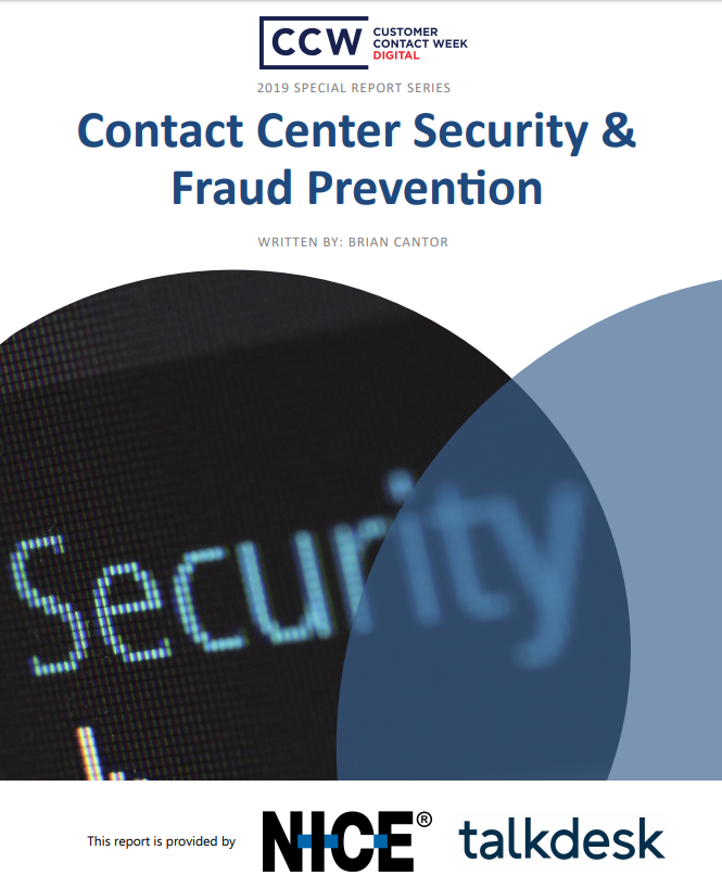 Special Report: Contact Center Security