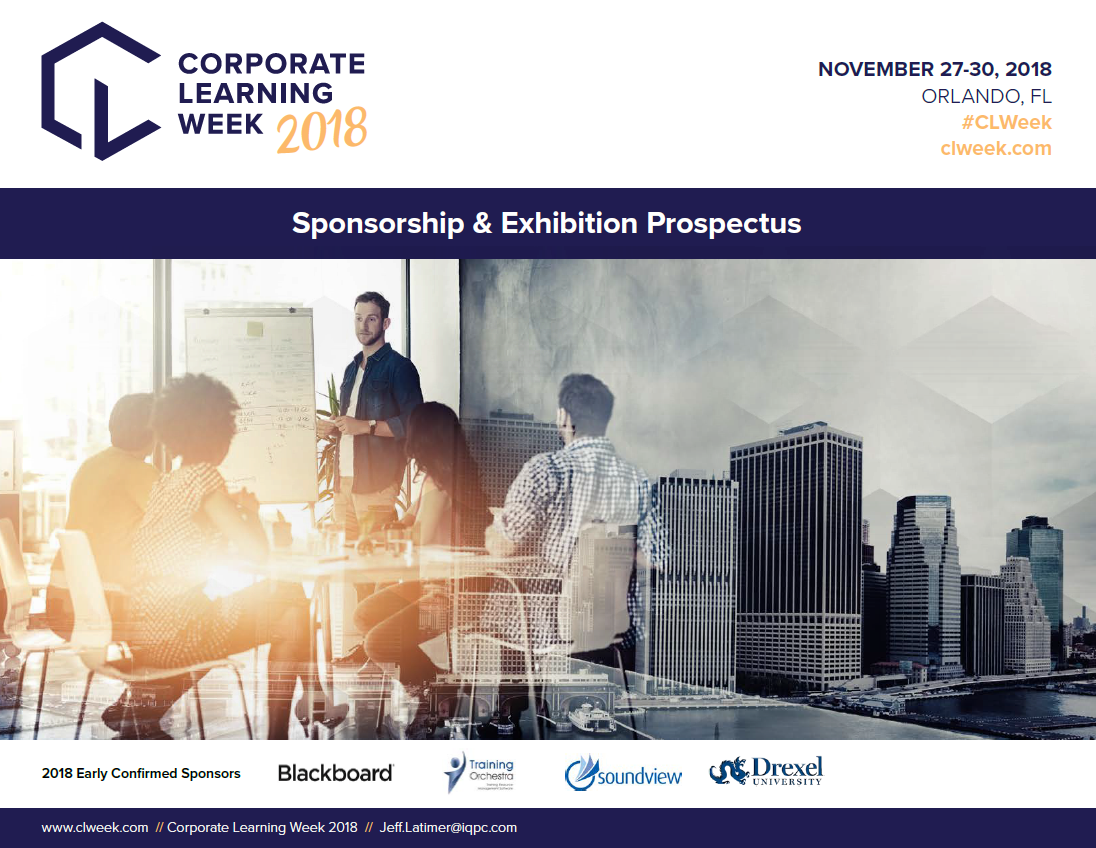 Corporate Learning Week - Sponsorship Prospectus