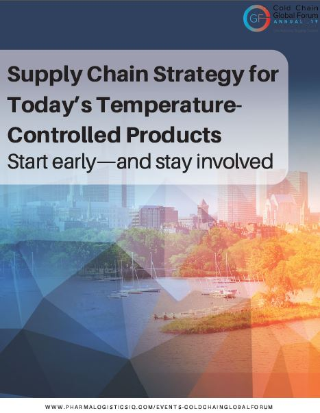 Supply Chain Strategy for Today's Temperature-Controlled Products
