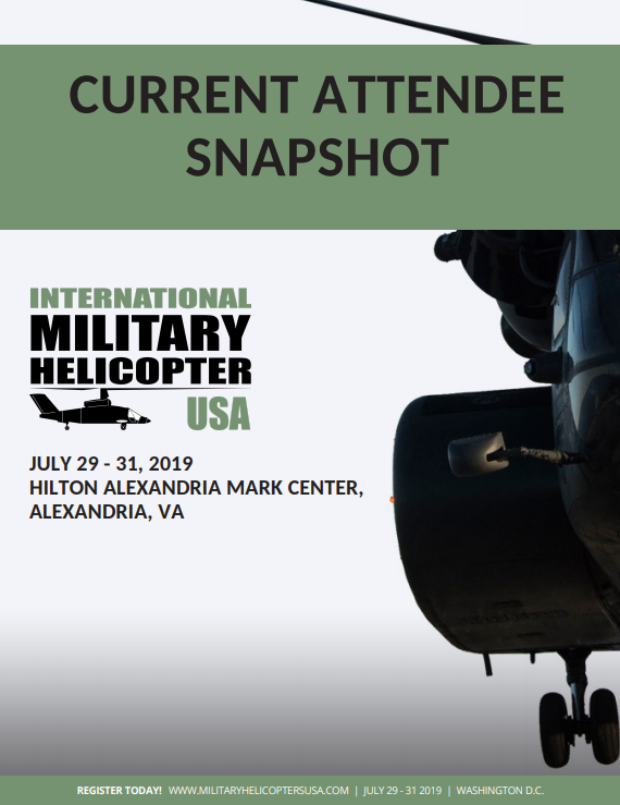 International Military Helicopter USA Current Attendee Snapshot
