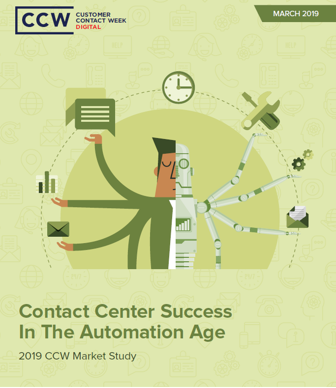 Market Study: Contact Center Success in the Automation Age