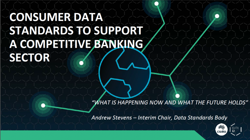 Creating Data Standards that Support a Competitive, Innovative Banking Sector: What's Happening Now and What the Future Holds