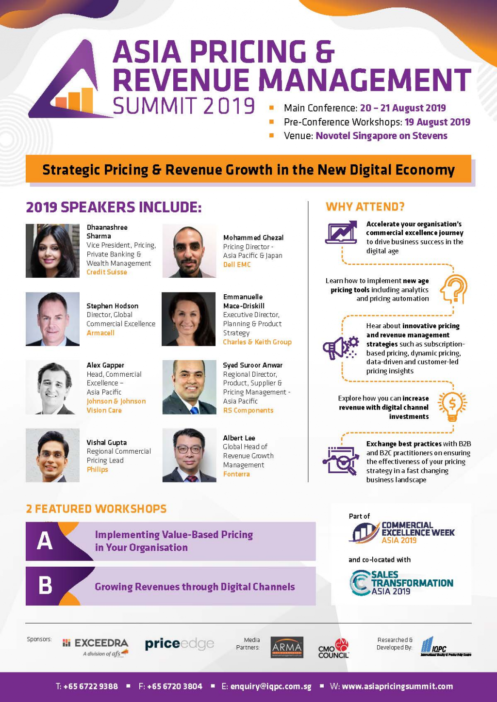 View the 5th Annual Asia Pricing & Revenue Management Summit Brochure