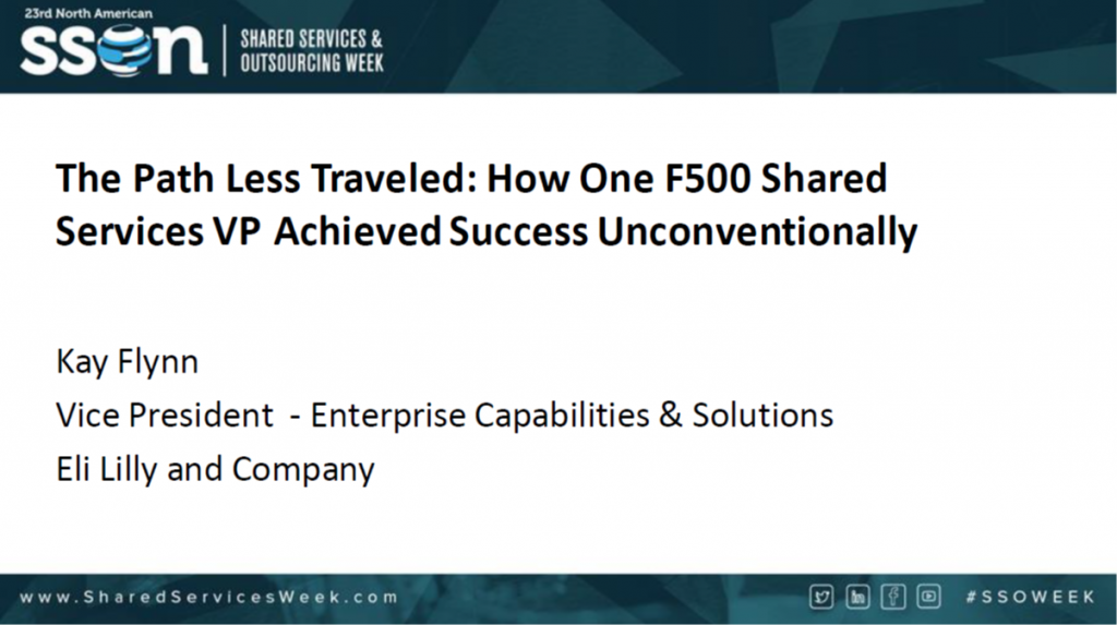 The Path Less Traveled: How One F500 Shared Services VP Achieved Success Unconventionally