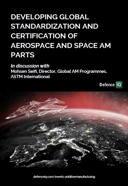 Developing global standardization and certification of aerospace and space AM parts: Insights from ASTM International