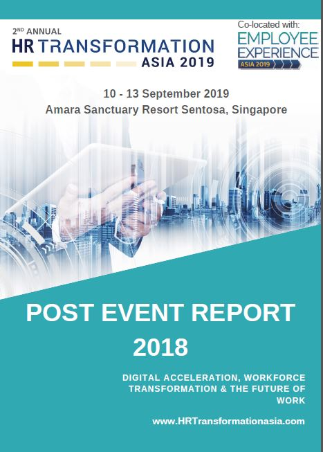 HR Transformation Asia - Post Event Report  2018