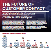 The Future of Customer Contact: Investment Priorities in 2020 and Beyond