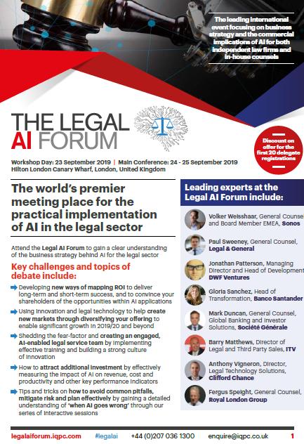 Download the Agenda l Legal AI Forum:
