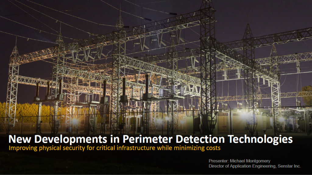 New Developments in Sensor Technologies for Protecting Critical Infrastructure