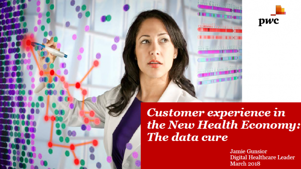 Customer experience in the New Health Economy: The data cure