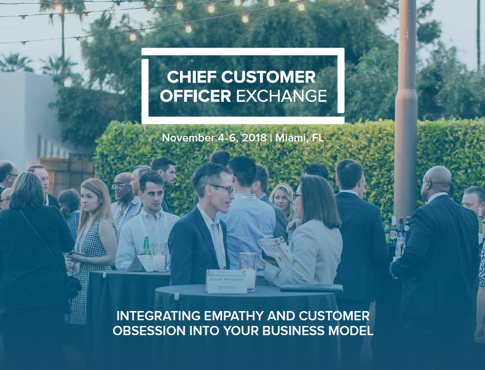 Being a Solution Provider at the Chief Customer Officer Exchange