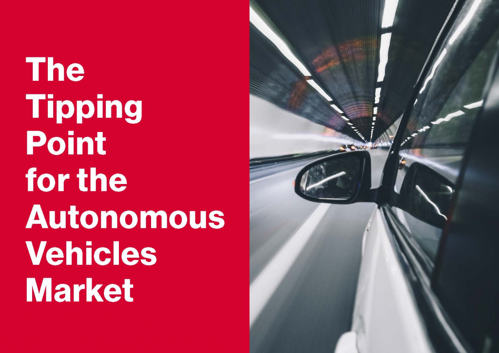 Download the Article - The Tipping Point for the Autonomous Vehicles Market