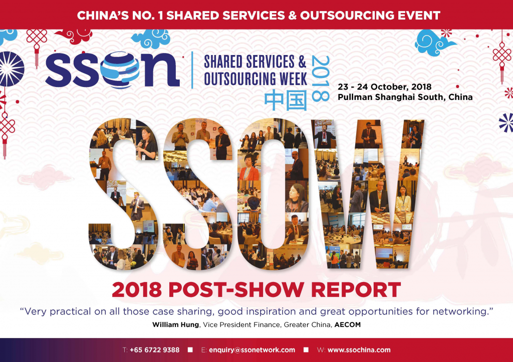 View the 2018 Shared Services & Outsourcing China Week Post Show Report │2018年共享服务与外包上海峰会会后报告