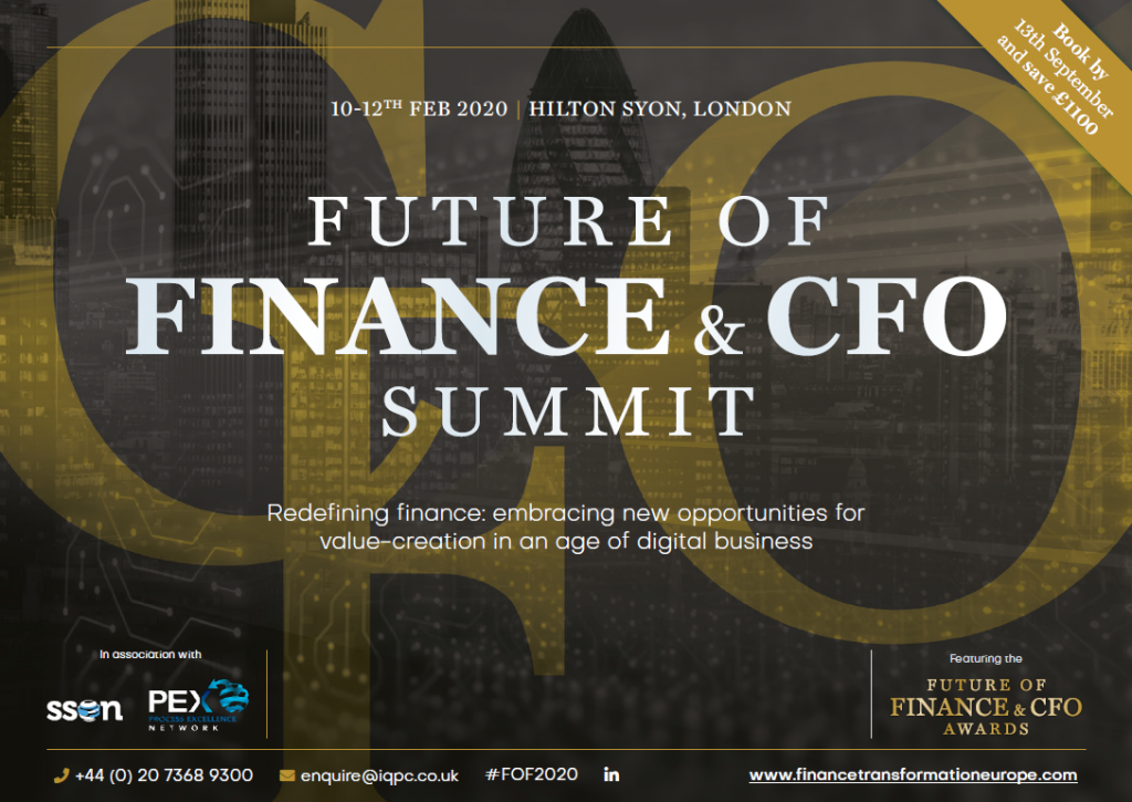The Future of Finance and CFO Summit 2020 Event Guide
