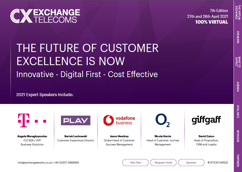 Download the 2021 CX Telecoms Agenda