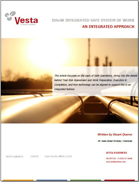 Vesta Partner's whitepaper on integrated safe system of work