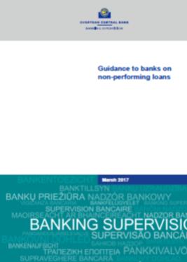 EZB Bericht: Überabeitete Erwartungen hinsichtlich notleidender Kredite (NPL)