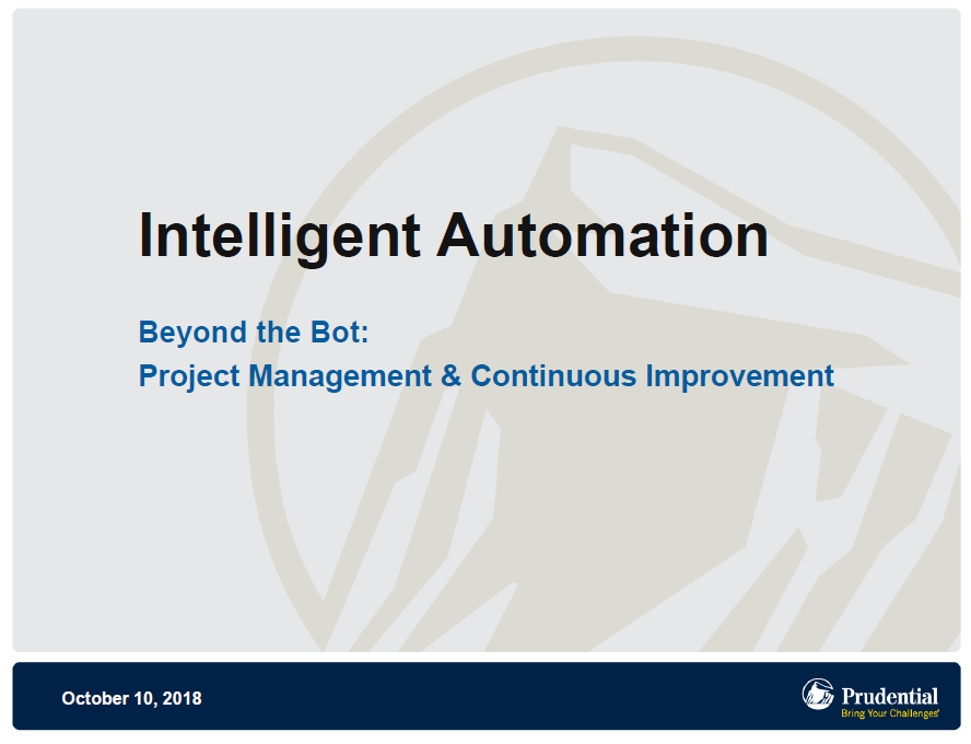 Beyond the Bot: Project Management & Continuous Improvement