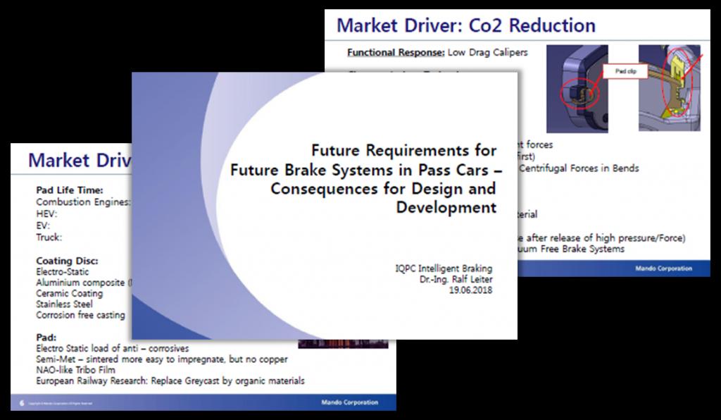 Mando Presenation: Future Requirements for Brake Systems