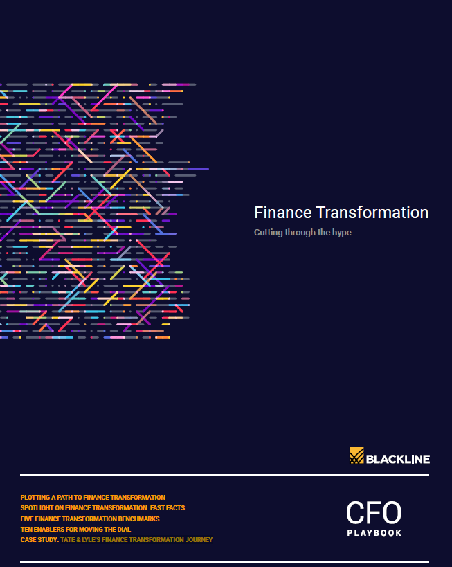 CFO Report: A Path to Finance Transformation