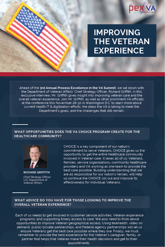 Exclusive Interview: Improving the Veteran Experience with Richard Griffith, Chief Strategy Officer for the State of Indiana, Dept. of VA