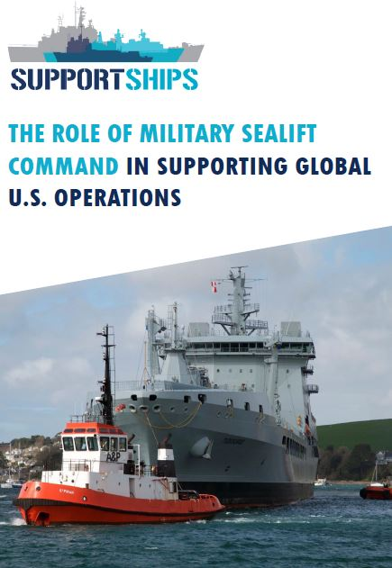 The role of Military Sealift Command in supporting global U.S. operations