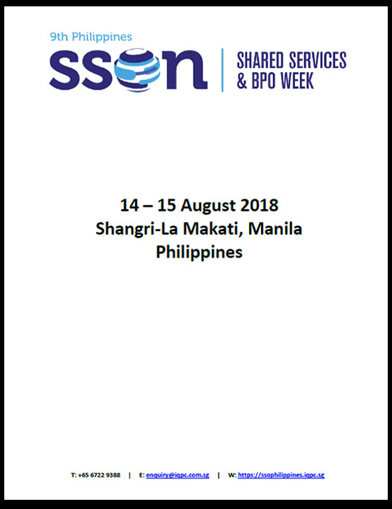 9th Philippines Shared Services and BPO Week - Attendee List