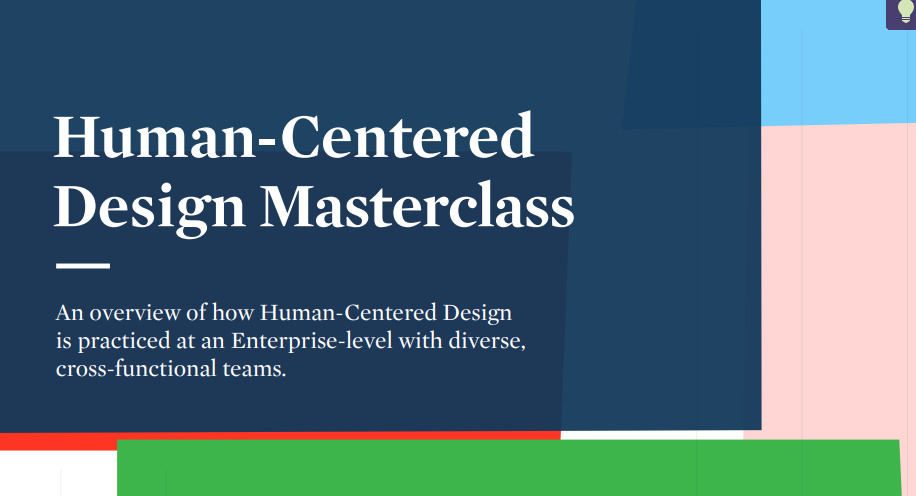 Design Thinking: Turning the Employee Experience Into the Human Experience