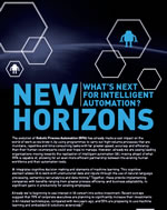 New Horizons: What's next for intelligent automation