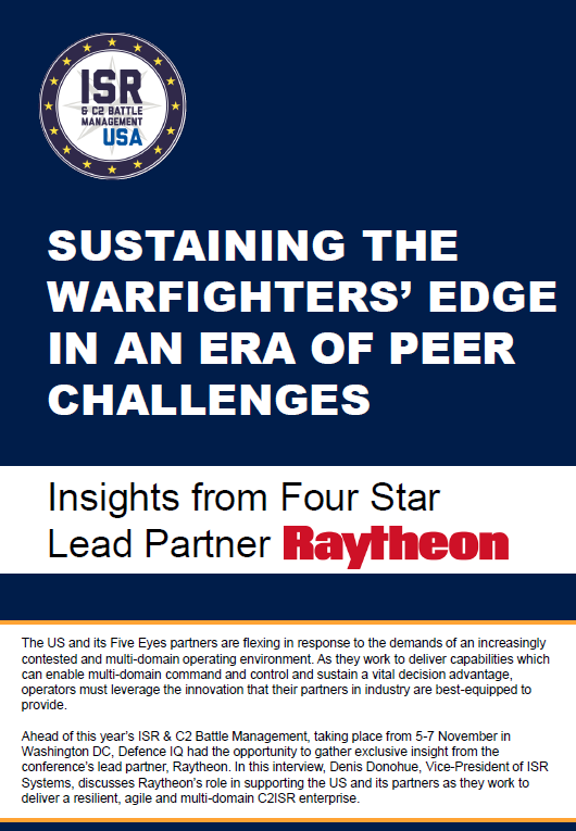 Sustaining the warfighters' edge in an era of peer challenges: Insights from Raytheon