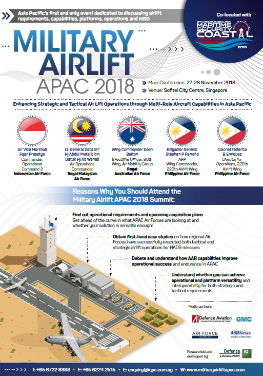 View your event guide – Military Airlift APAC