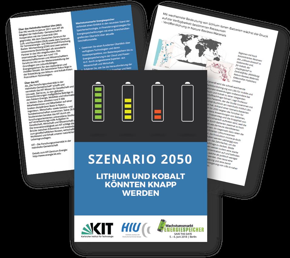 Szenario 2050: Lithium und Kobalt könnten knapp werden