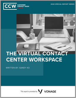 The Virtual Contact Center Workspace