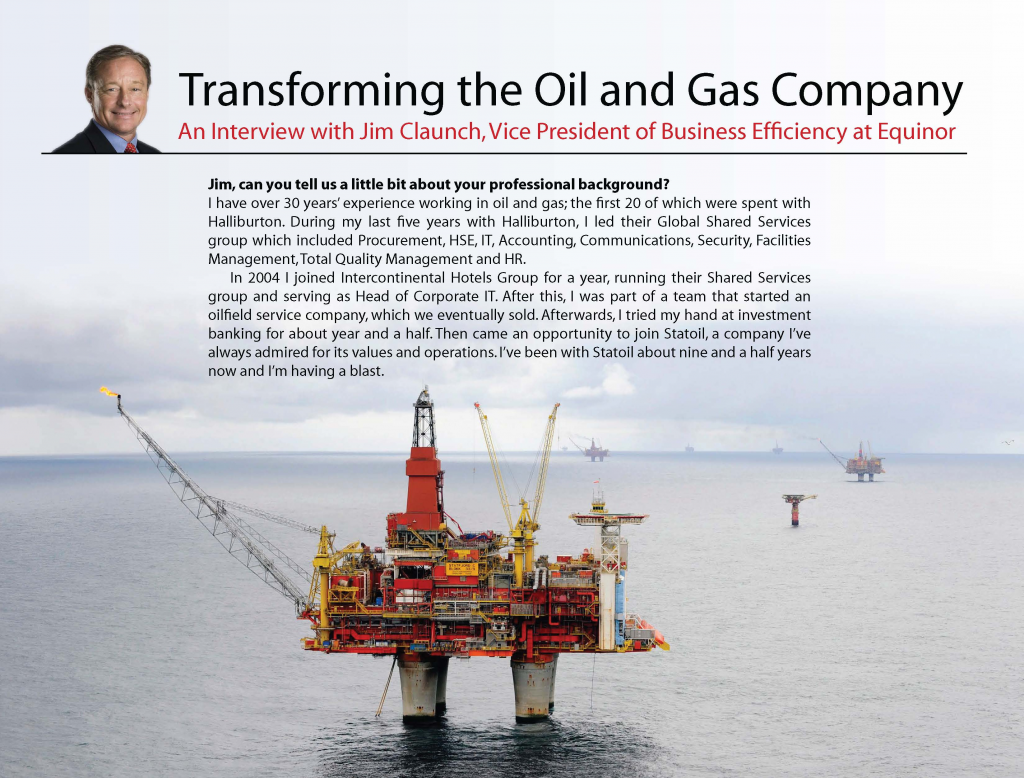 Transforming the Oil and Gas Company