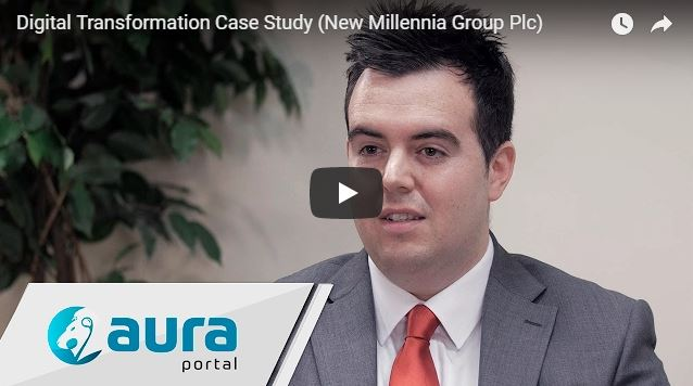 AuraPortal Digital Transformation Case Study (New Millennia Group Plc)