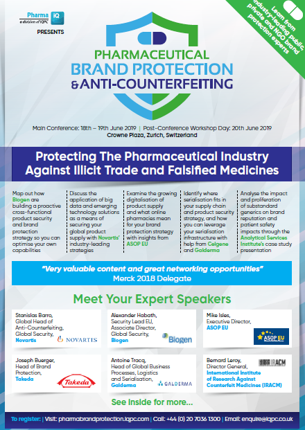 Download the Event Guide l Pharmaceutical Anti-Counterfeiting Forum
