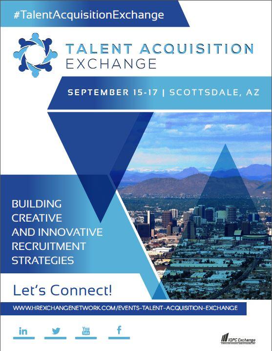 The 2019 Talent Acquisition Exchange Agenda