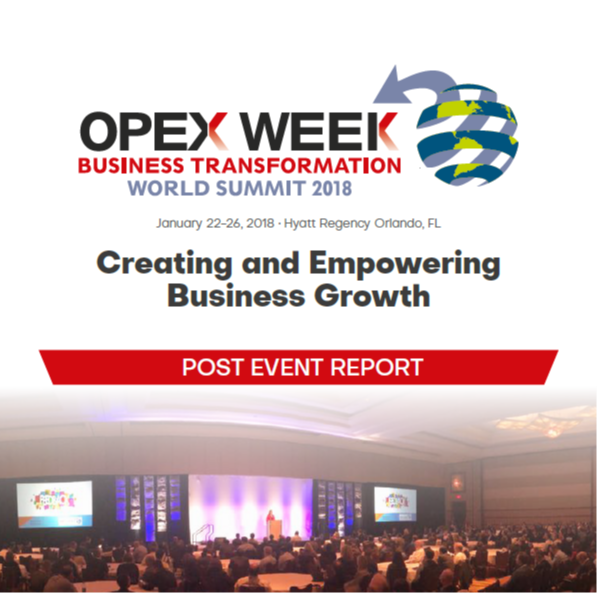 OPEX World 2019 - spex - Post Show Report