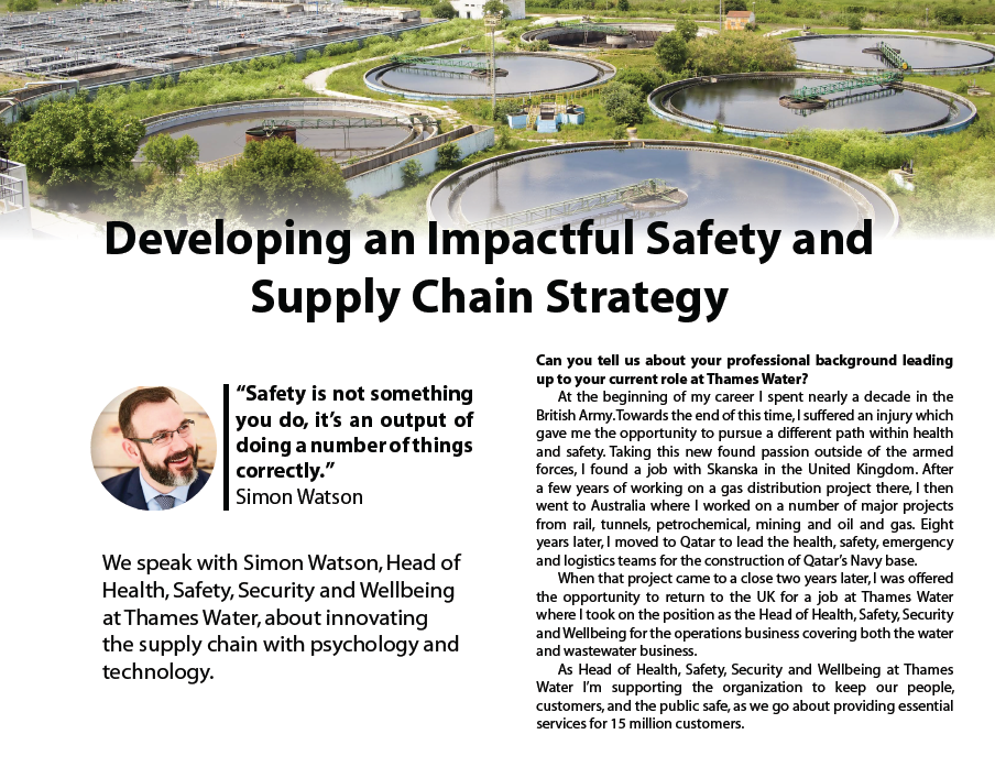 Developing an Impactful Safety and Supply Chain Strategy